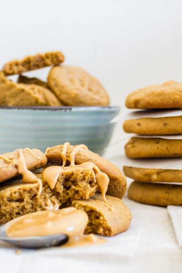 Galletas Crunchy de Mantequilla de Maní