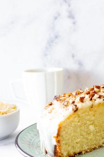 Coffee Cake de Coco y Pecanas