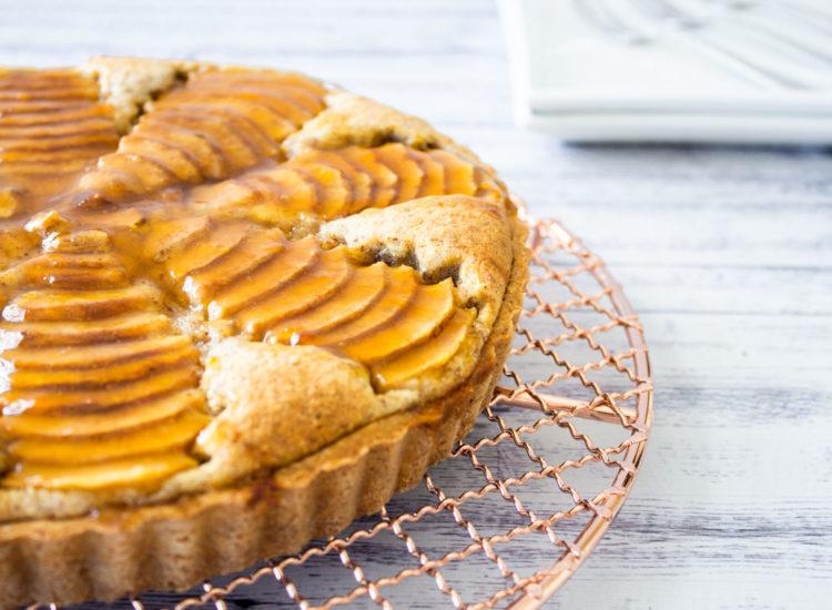 Tarta de Peras y Crema Frangipane