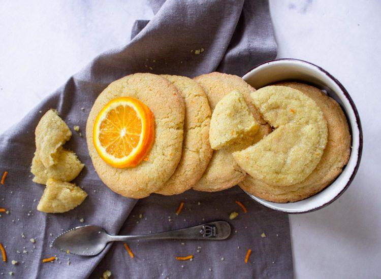 Galletas de Naranja y Jengibre