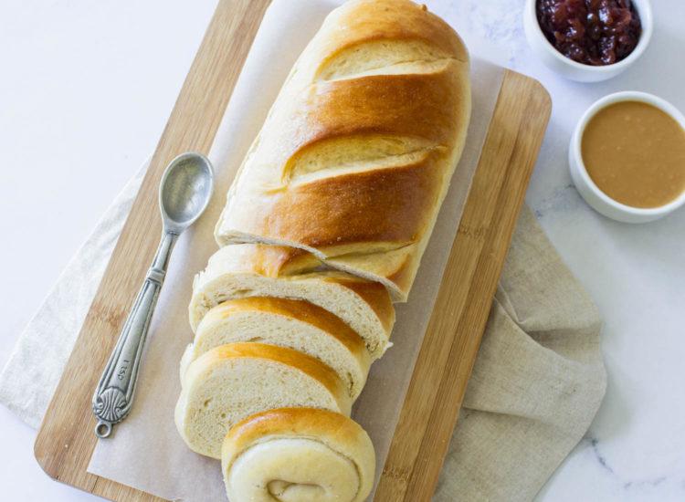 Pan Molde de Leche y Manteca