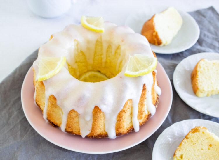 Chiffon Cake de Limón