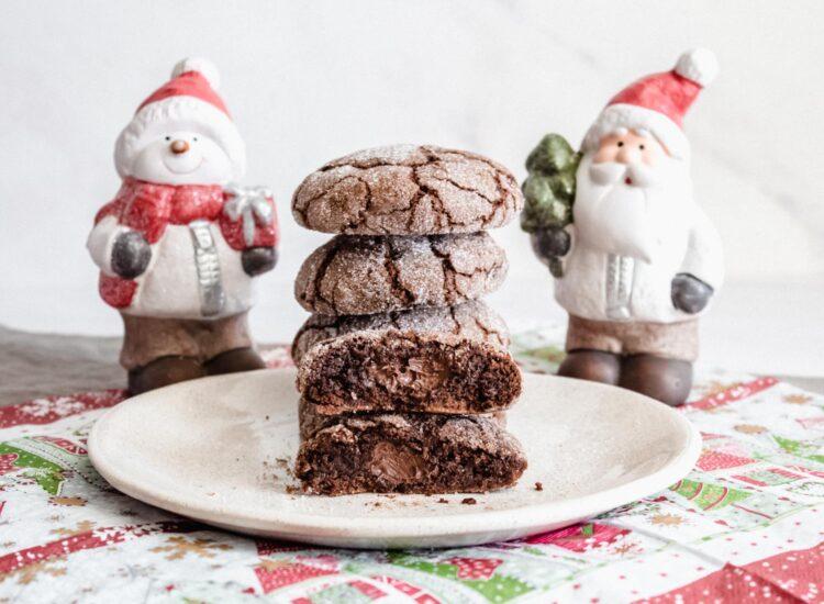 Galletas de Chocolate rellenas de Nutella